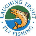 laughing Trout logo round transparent